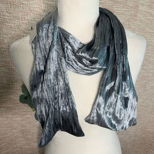 [velour] Dressy Pleated Scarf NWT